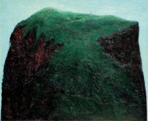 Green Hill, 1982 Oil on canvas, 100 x 120 cm