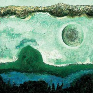 Landscape. 1983 Oil on canvas. 97 x 97