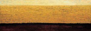 In the Field. 1998 Oil on canvas. 80 x 230