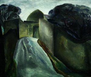 Дождь в Мардакянах. 1967 Холст, масло. 88 х104
