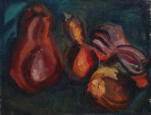 Pumpkin. 1973 Oil on canvas. 70 x 90