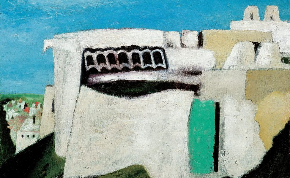 Spring in Kala. 1984 Oil on canvas. 80 x 100
