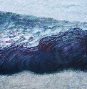 Winter day. 1983 - 2003 Acrylic on canvas. 100 x 100