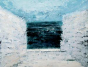Between Sea and Road. 1993–2003 Acrylic on canvas, 150 х 200