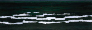 From the Cycle 'Earth Patterns'. 2000   Acrylic on canvas. 90 cm x 270 cm