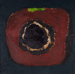 "From the Cycle ""The Fruit"", 2014   Acrylic on cardboard, 41 x 42.5 cm"