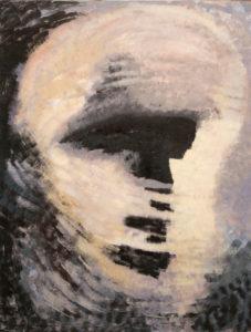 Portrait of Know-It-All (Vseznajka), 2013-14  Acrylic on canvas, 200 x 300 cm